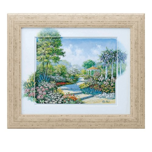 絵画 絵 風景画 花 インテリア 玄関 ピーターモッツ ウォーキングスルーザパーク PM-12034 B009LN8T32