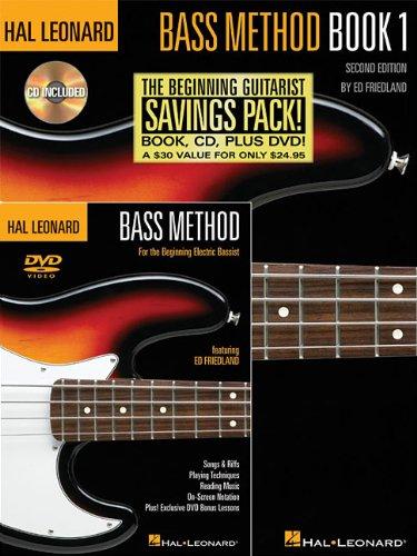 - Hal Leonard Bass Method Beginner's Pack: The Beginning Bassist Savings Pack!