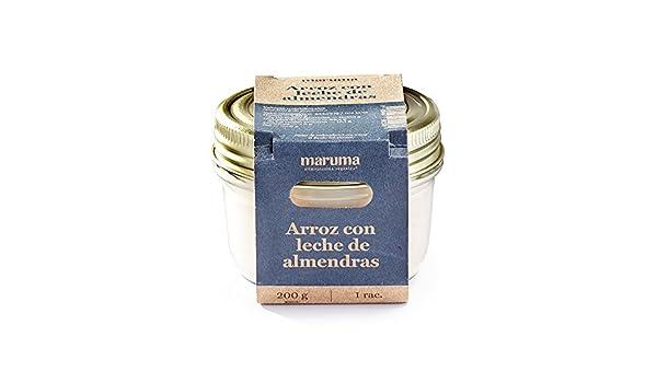 Cocina Maruma - Arroz con leche de almendras, 200 g: Amazon.es: Alimentación y bebidas