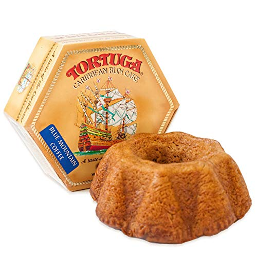 TORTUGA Caribbean Blue Mountain Rum Cake - 16 oz Rum Cake - The Perfect Premium Gourmet Gift for Gift Baskets, Parties, Holidays, and Birthdays - Great Cakes for Delivery (Best Birthday Cake Delivery)