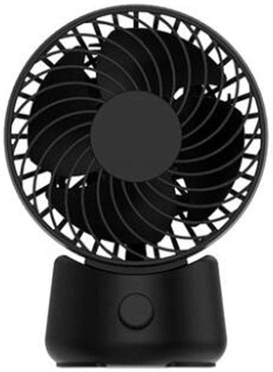 Black Desk Top White Color : Pink Aishanghuayi Desk Fan Reversed Double Leaf Blades Low Noise Pink USB Socket