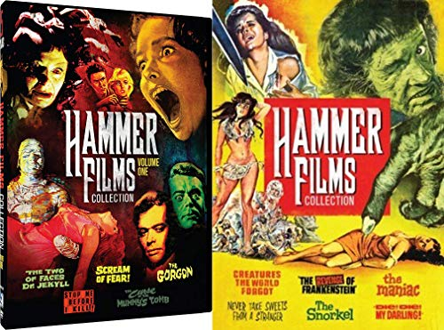 Hammer Horror 11-Movie Festival with Classics like Revenge of Frankenstein, Die! Die! My Darking!, Two Faces of Jeckyl & Hyde, The Gorgon and More!