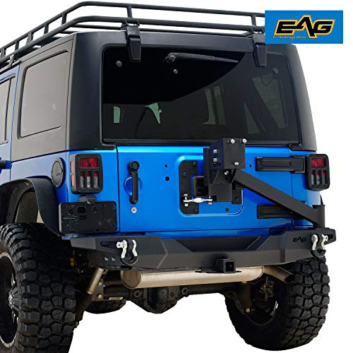 - EAG Rear Bumper with Tire Carrier & 2