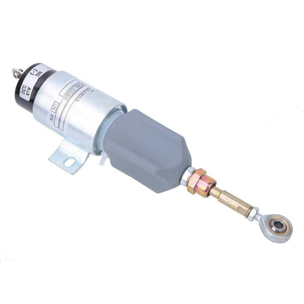 Solenoid Valve B4002-1115030 12V Fuel Shut Off Solenoid Valve Diesel Shutdown Solenoid Excavator Accessories for YUCHAI Engine