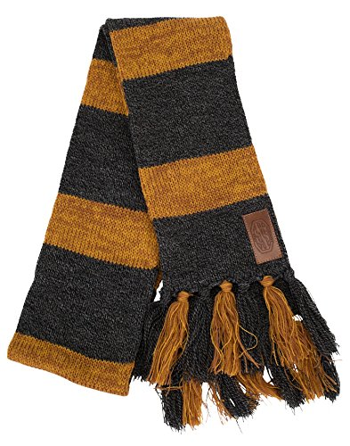 elope Fantastic Beasts and Where to FIND ThemTM Newt ScamanderTM Costume HufflepuffTM Scarf (Harry Potter Knit Hat N Scarf)