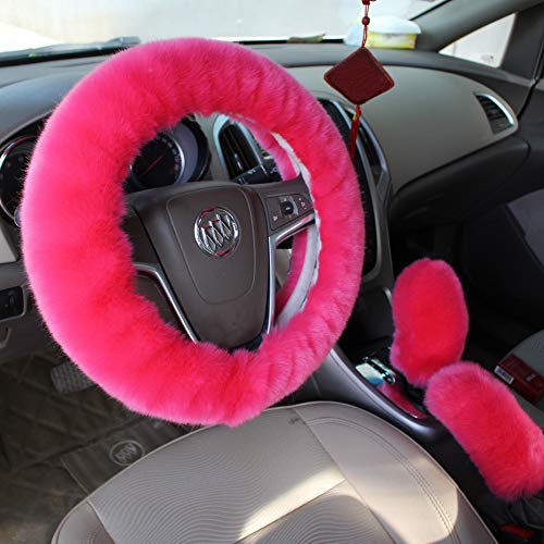 car accessories hot pink - 9