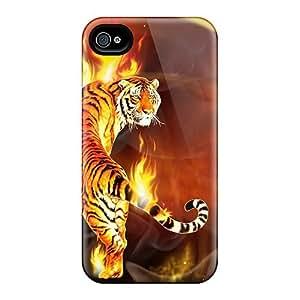 Shockproof Scratcheproof Hd Fire Tiger Hard Diy For SamSung Note 3 Case Cover