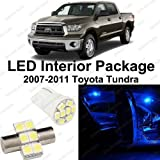 Splendid Autos Ultra Blue LED Toyota Tundra Interior Package Deal 2007 - 2011 (10 Pieces)