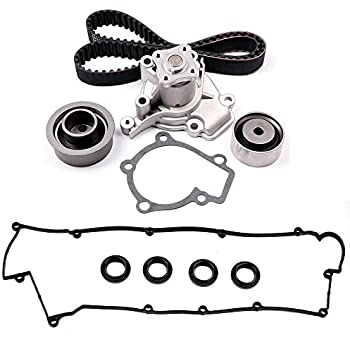 amazon eccpp timing belt water pump kit and valve cover gasket 03 Tiburon GT scitoo timing belt water pump kit and valve cover gasket fits 03 06 hyundai kia 2 0l dohc 22441 23800
