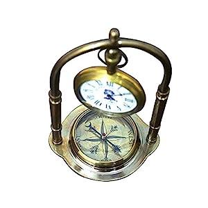 51CzvhzA3RL._SS300_ Nautical Themed Clocks
