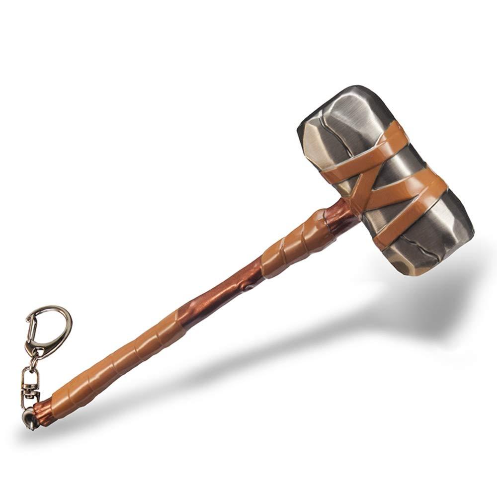 Metall 1/6Spitzhacke, Axt, Schlüsselanhänger, Modell, Waffen, Geschenk 641154