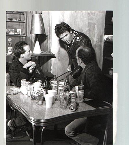 (MOVIE PHOTO: American Buffalo-Zephyr Theater-Sandy Bull-Frank Papia-B&W-8x10-Promo-Still)