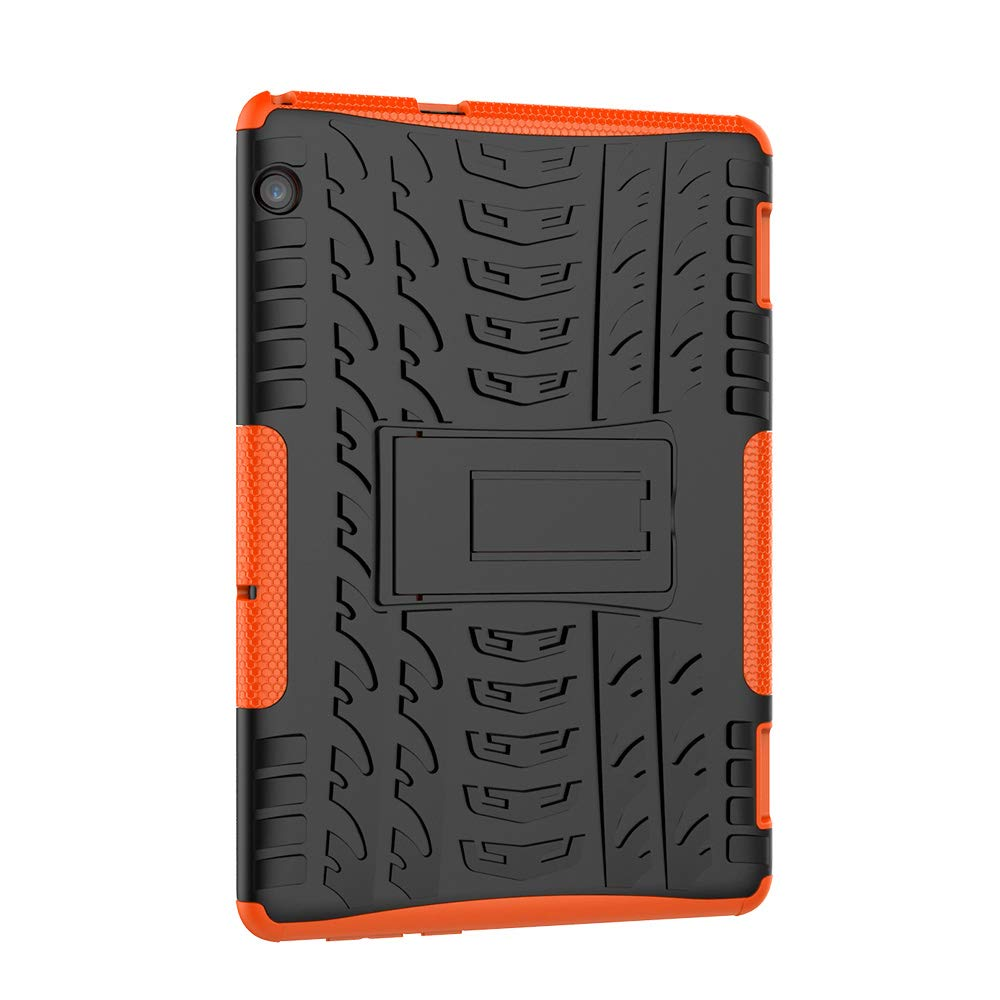 XITODA Funda Huawei MediaPad T5 10, Hybrid Rugged Armor Duro PC + TPU Silicone Back Case Cover Carcasa para Huawei MediaPad T5 10 2018 Tablet Funda ...