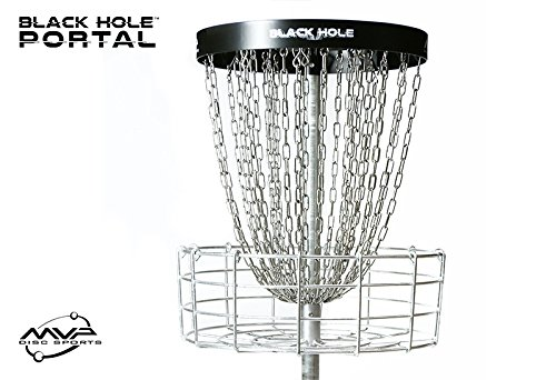 MVP Black Hole Portal Basket - Portable by MVP Disc Sports