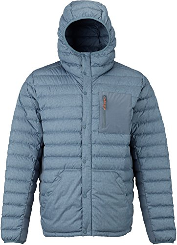 Burton Evergreen Hooded Down Insulator, La Sky Heather, Large