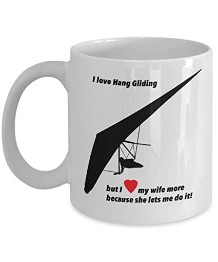 Amazon com: I love Hang Gliding presents and gifts for your
