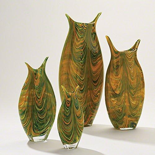 (Global Views Marbleized Vase-Lg,)