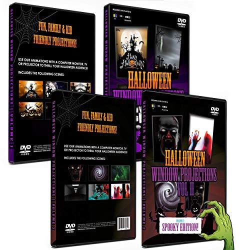 2 DVD Box Set Halloween Digital Window Decoration - Vol 1 & 2]()