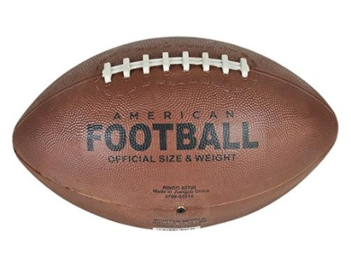 Regulation Size 11″ Rubber Football! Great for the Backyard, Beach, or even Pool!