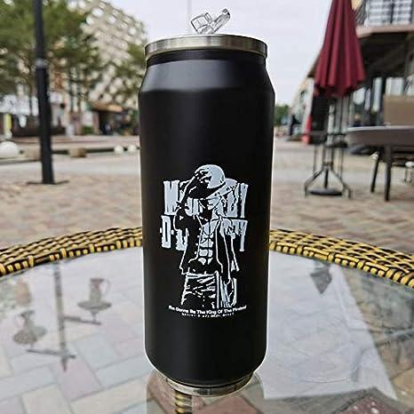 LZBDKM Thermos Tasse 500ml Chat Mignon Thermos Cup VacuumThermal Mug Flacons Amoureux de Thermos Bouteille de caf/é en Acier Inoxydable Thermos Bouteille de Voyage
