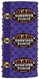 Buff Survivor Season 27 Blood vs Water-Kasama Merged Tribe-Purple