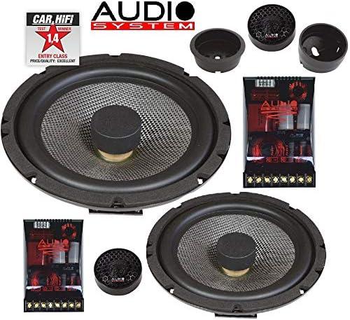 Audio System X 165 Flat Evo 2 Way Component System Navigation Car Hifi