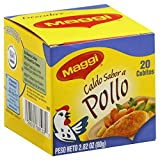 Maggi Chicken Bouillon Cube 2.82 OZ(Pack of 6)