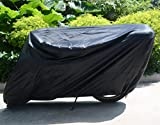 Scooter Cover with Lock FLR Black XL Scooter Covers 150cc...