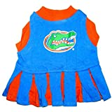 NCAA University of Florida Gators Cheerleader Dog Outfit,  Small