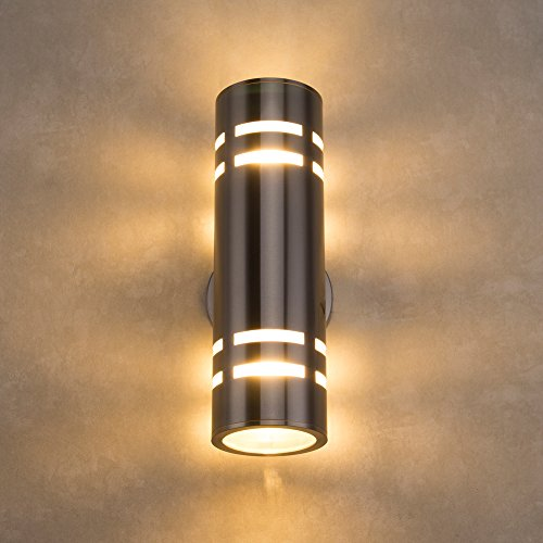 Wall Lamps Uae : Deking PLT01 Waterproof Cylinder Porch Light IP64 Modern Outdoor Lighting C-UL US Listed Wall ...