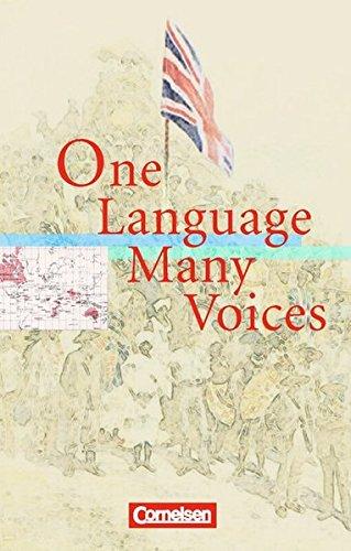 Cornelsen Senior English Library - Literatur: Ab 11. Schuljahr - One Language, Many Voices: Textband mit Annotationen