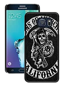 Sons of Anarchy Logo(1) Black Special Custom Picture Design Samsung Galaxy Note 5 Edge Phone Case