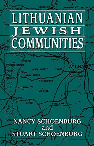 (Lithuanian Jewish Communities)
