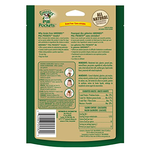 GREENIES-PILL-POCKETS-Soft-Dog-Treats-Grain-Free-Duck-Pea-Capsule-66-oz