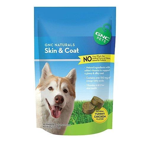 GNC Pets Naturals Skin Coat – Yummy Chicken Flavor 50 Tender Bites