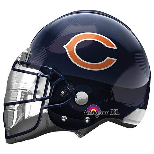 Anagram 26280 NFL Chicago Bears Football Helmet Foil Balloon, 21