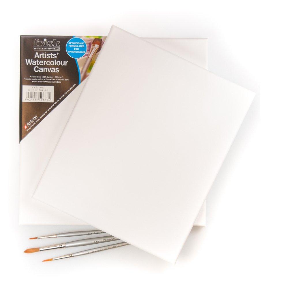The Society for All Artists Frisk - Tele, per acquarelli, 315,2 x 60,96 cm, confezione da 2 40203624