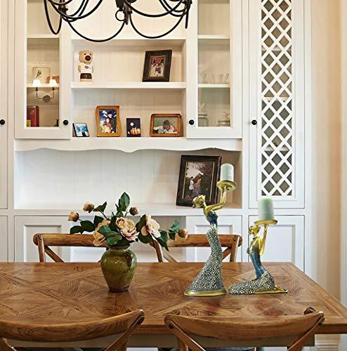 Creative TV Cabinet Wine Cabinet Crafts Model Room Decoration//Artwork//Gifts//furnishings Decoration Living Room Home Decorations Color : B