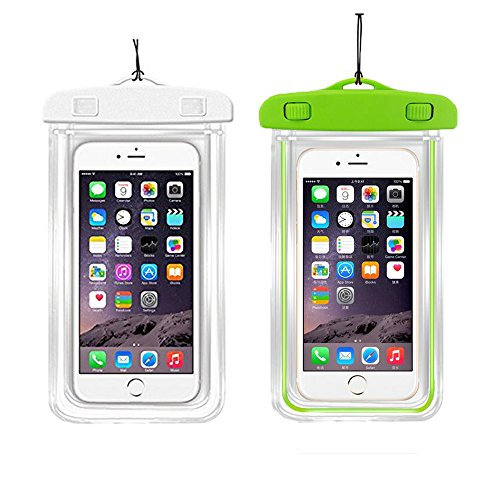 Waterproof Case Universal CellPhone Dry Bag Pouch CaseHQ for Apple iPhone 6S, 6, 6S Plus, SE, 5S, Samsung Galaxy S7, S6 HTC LG Sony Nokia Motorola up to 5.7