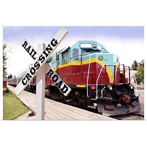 GREATBIGCANVAS Poster Print Entitled Mount Hood Railroad by Tony Craddock 18