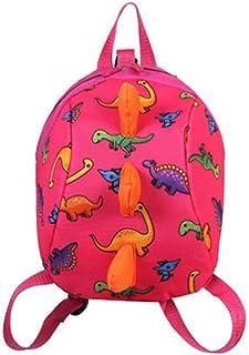 LLP-BD Boys Girls Schoolbags Green-Cartoon Childrens Schoolbags Kindergarten Childrens Bags Durable Student Bags Cute Shockproof Lightening Breathable