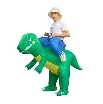 Amazon.com: WFTD - Disfraz de dinosaurio hinchable para ...