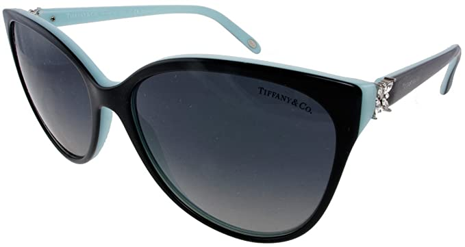 ff33f47c045f Tiffany   Co. TF4089B 8055T3 Black blue Frame Color Polarized Grey Gradient  Lens