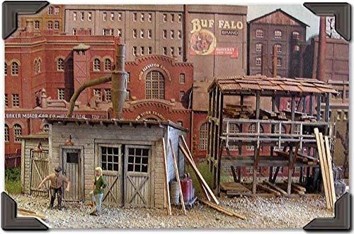 BAR MILLS O SCALE MODEL TRAIN BUILDINGS - CROWN CRATE for sale  Delivered anywhere in USA