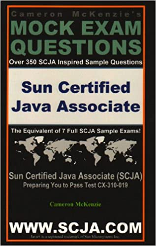 Scja Sun Certified Java Associate Exam Questions Guide by Cameron ...