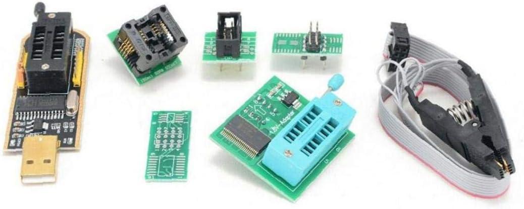 Programmer Modulo Masterizzazione Block Sop8 Test Clip Ch341a Tiranno Oro 1.8v Sop8 Conversione Di Base a Dip8