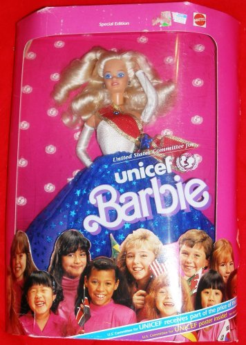 (Mattel 1989 Unicef Barbie)
