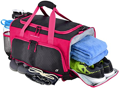 "Ultimate Gym Bag: The Crowdsource Designed 20"" Duffel by FocusGear"