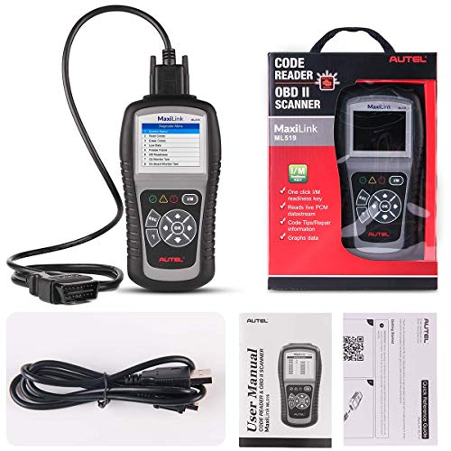 Autel MaxiLink ML519 OBDII/EOBD Scanner Enhanced OBD II Mode 6,Code Reader with The Same Function as al519 by Autel (Image #8)