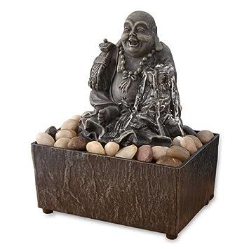 Lucky Buddha Table Top Fountain